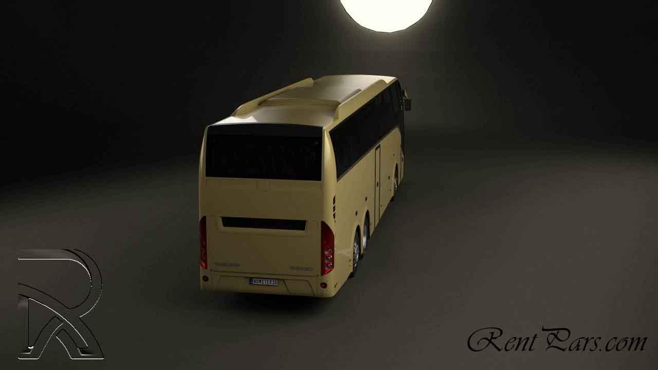 کرایه اتوبوس تهران پردیس