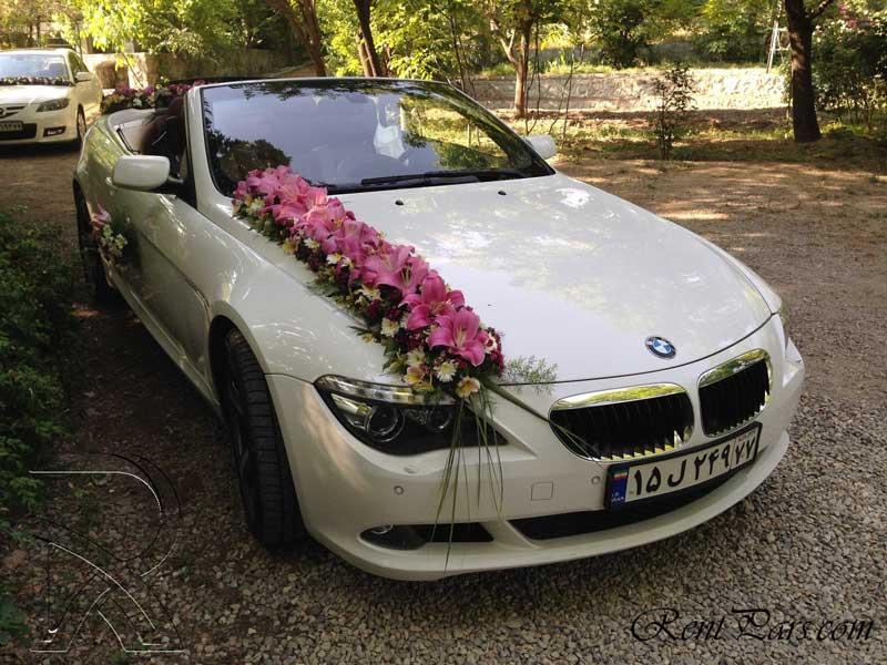 مدل گل ماشین عروس