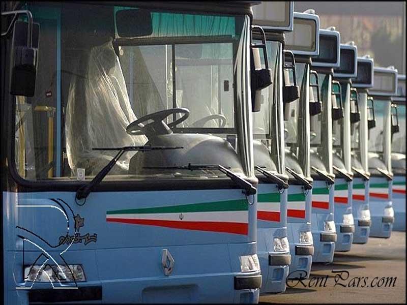 کرایه اتوبوس دربستی شرکت واحد