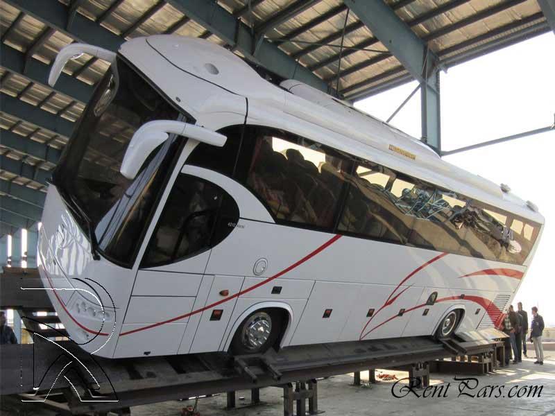 کرایه اتوبوس تهران قم