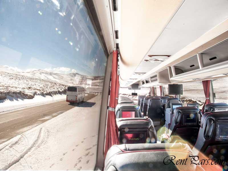 اجاره اتوبوس برای بهشت زهرا 1