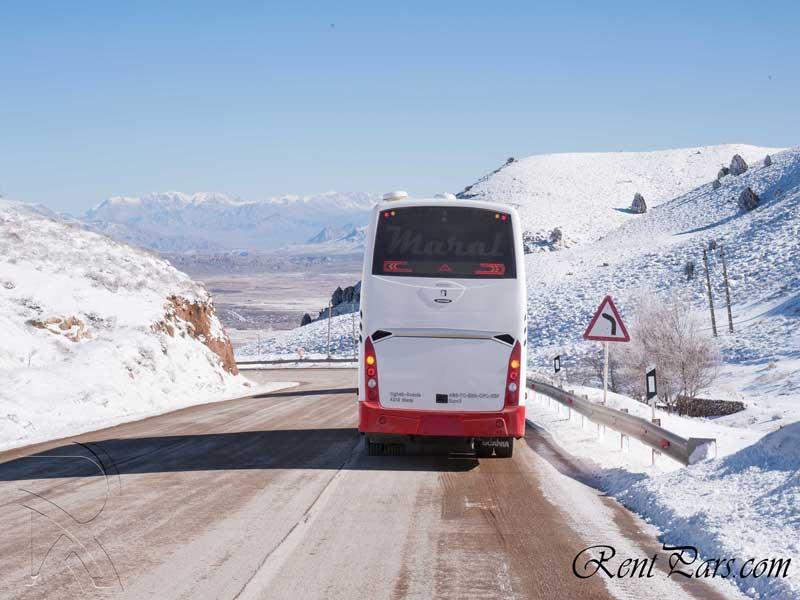 کرایه اتوبوس تهران استانبول