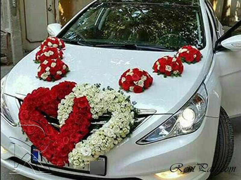 عکس ماشین عروس سوناتا