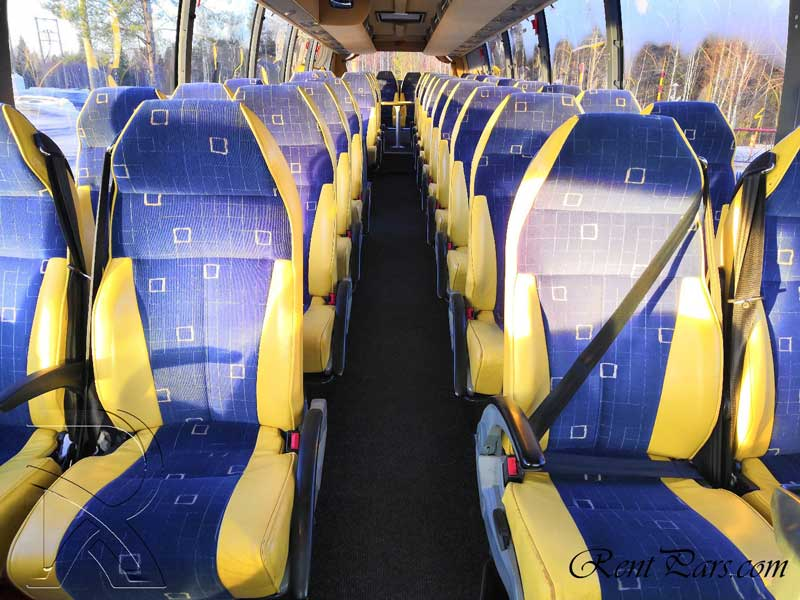 قیمت اتوبوس vip ۱