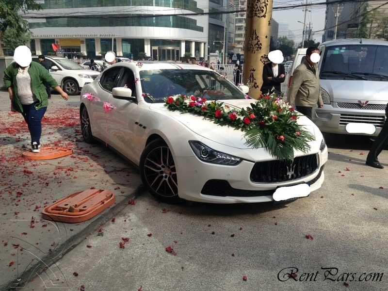 ماشين عروس