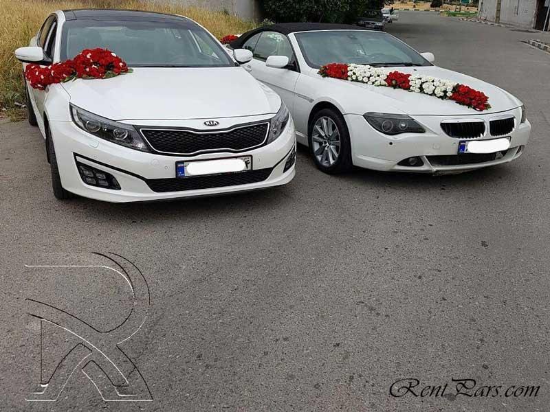 عکسهای ماشین عروس
