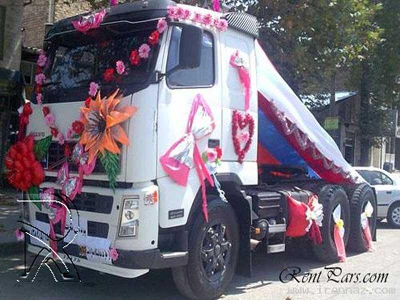 تزیین ماشین عروس با پاپیون 9