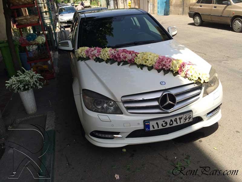 مدل گل ماشين عروس 3