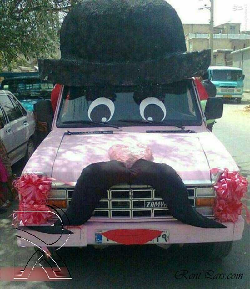 اجاره ماشین عروس ۸
