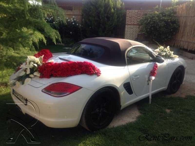 تزیین ماشین عروس 6