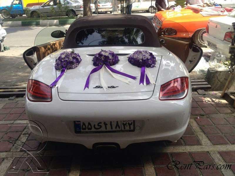 عکس ماشین عروس جدید 3