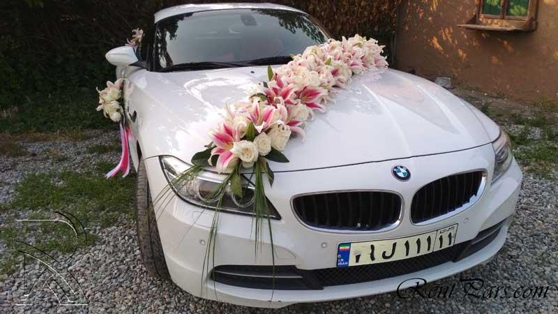 تزیین ماشین عروس 5