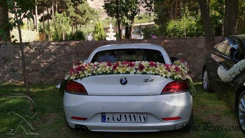 مدل گل ماشين عروس 1
