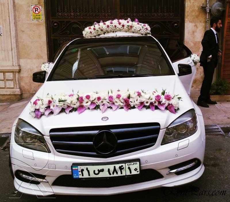 اموزش گل ارایی ماشین عروس ۸