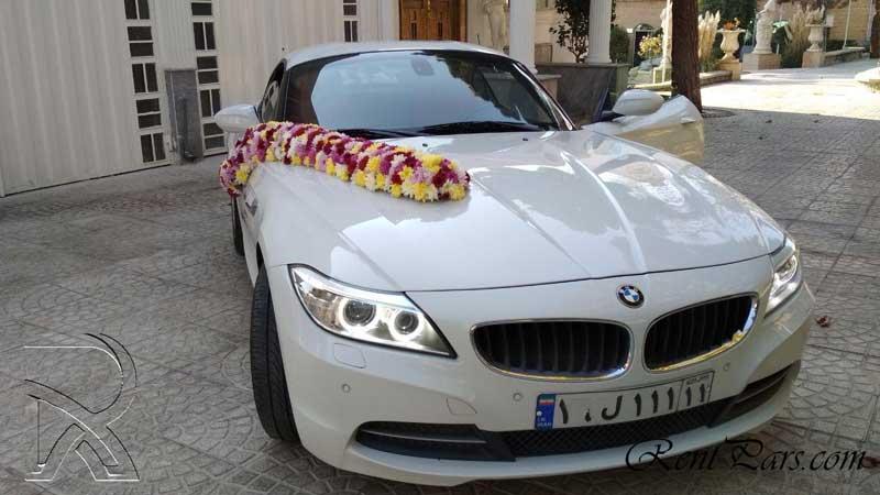 گل زدن ماشین عروس 9
