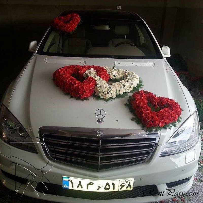 مدل ماشین عروس ۳