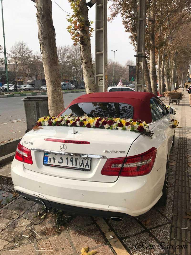 گل زدن ماشین عروس 8