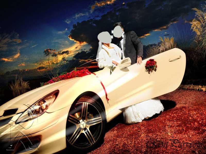 کرایه ماشین عروس 7