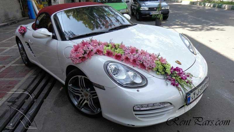 تزیین ماشین عروس 3