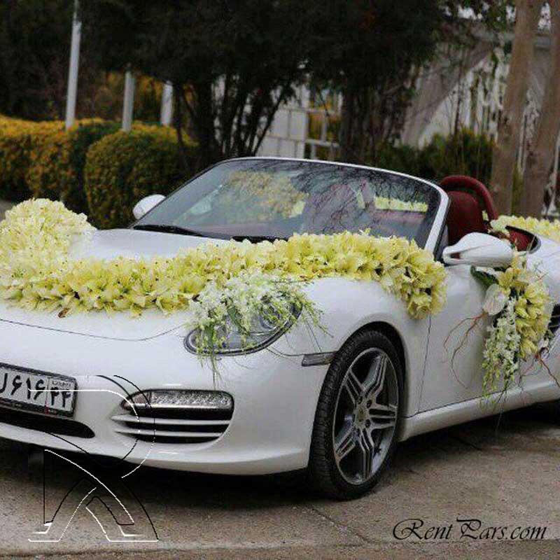 جدیدترین تزیین ماشین عروس در تهران ۲