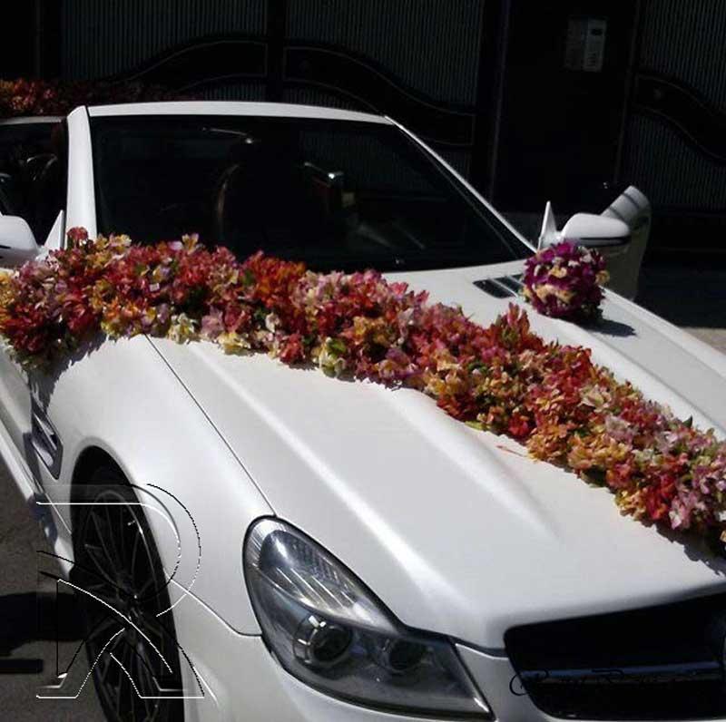 تزیین ماشین عروس 1