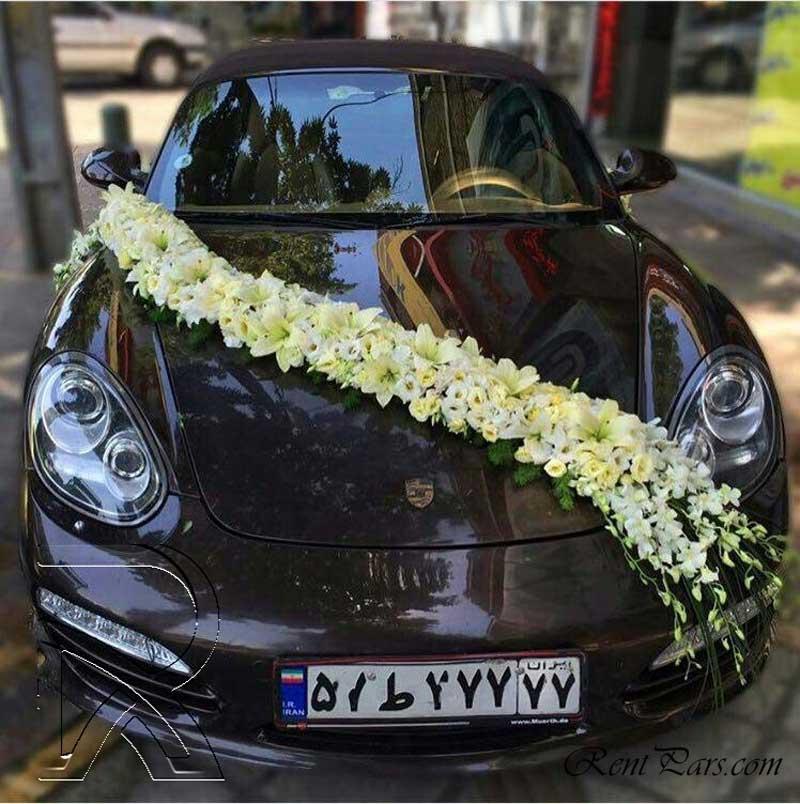 تزیین ماشین عروس 2
