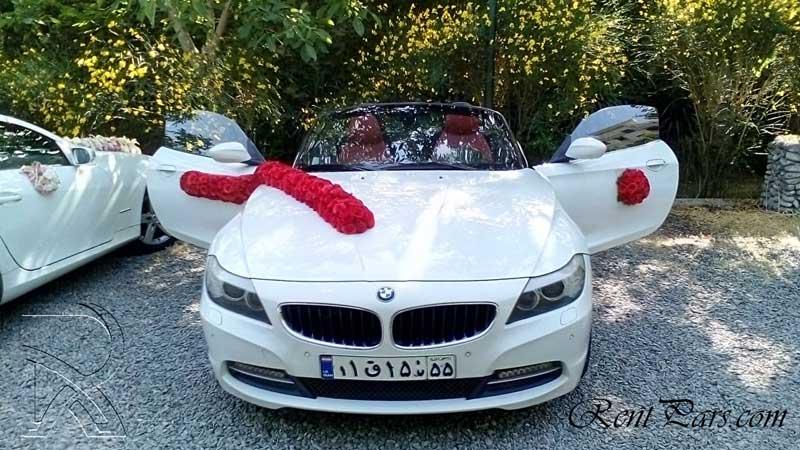 گل آرایی ماشین عروس ۴