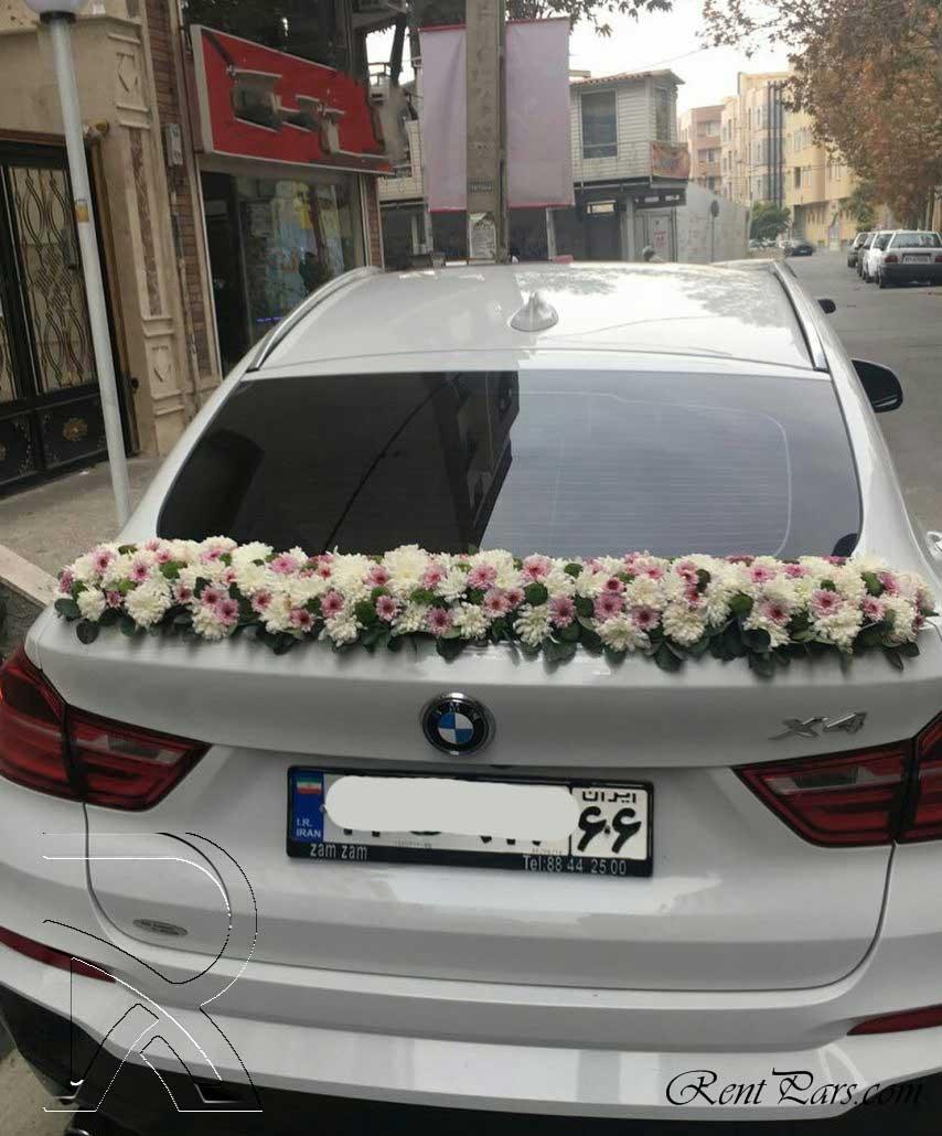 تزيين ماشين عروس شاسي بلند