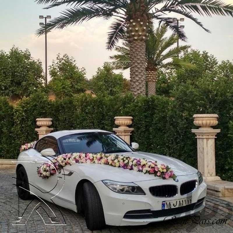تزین ماشین عروس ایرانی ۹