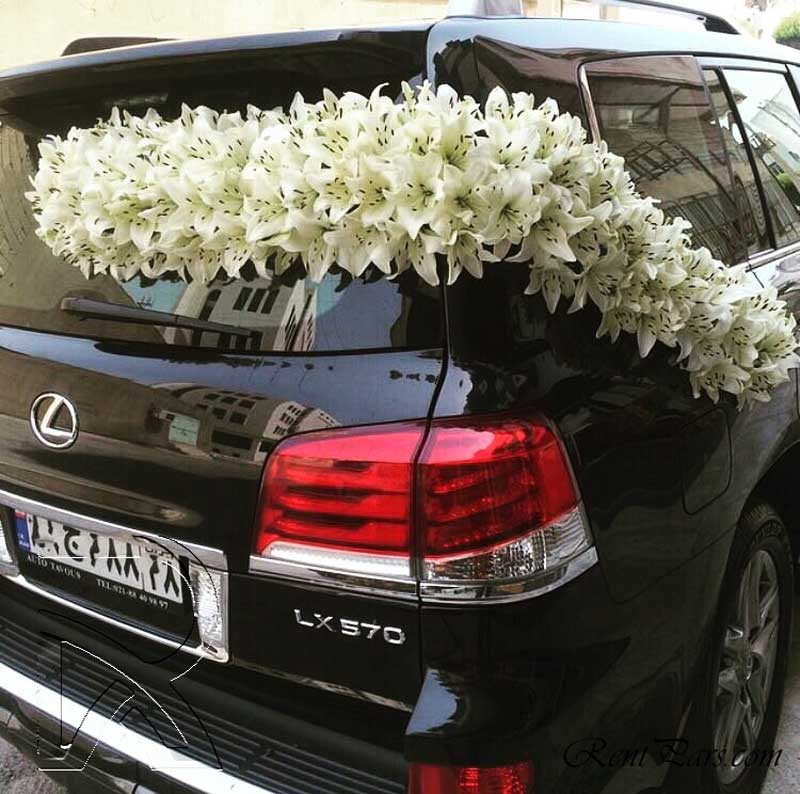 مدل ماشین عروس شاسی بلند