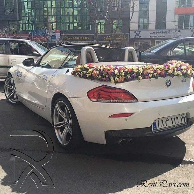 جدیدترین ماشین عروس ۱
