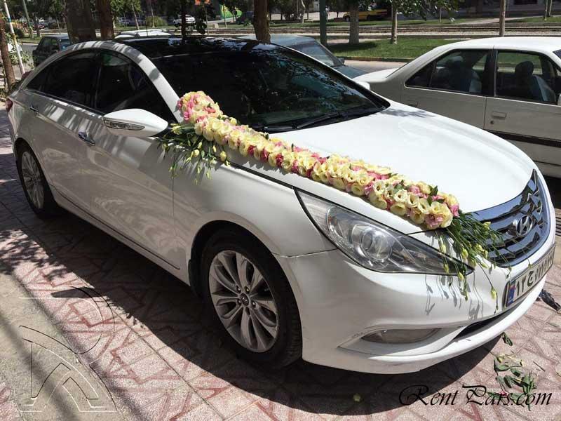 مدل گل ماشين عروس 2