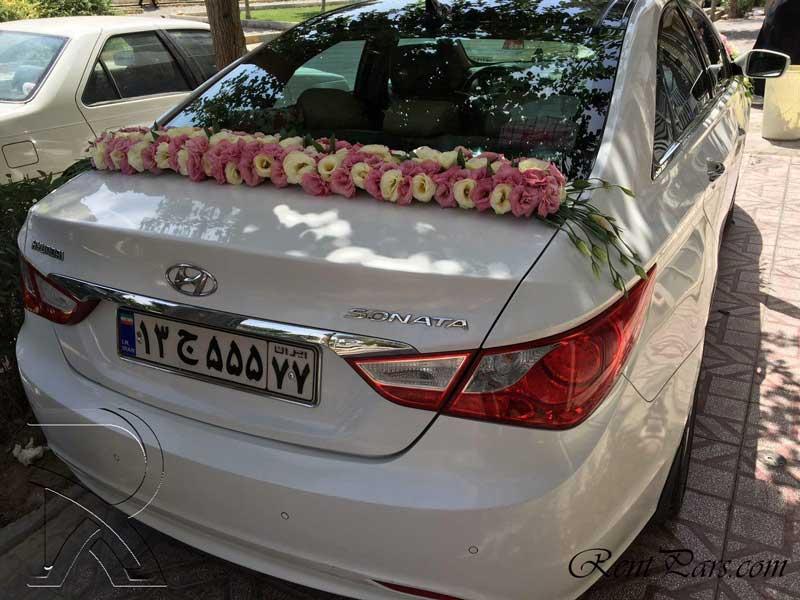 عکس ماشین عروس سوناتا ۱