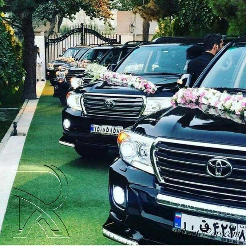 ماشین عروس شاسی بلند