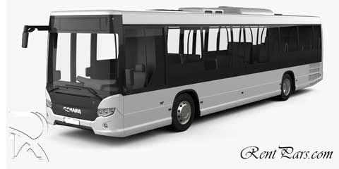 کرایه اتوبوس دربستی داخل شهری | قیمت اجاره اتوبوس دربستی